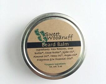 Organic Beard Balm | Beard Balm | Natural Beard Care | Beard Care | Beard Moisturizer | Beard Butter | Beard Conditioner | Beard Wax