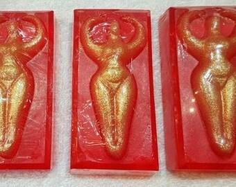 Patchouli Goddess glycerine soap