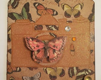Butterfly Camera Card