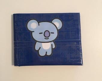 BT21 Koya Duck Tape Wallet