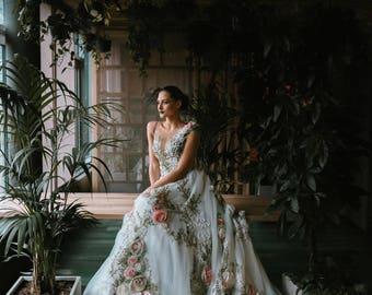 Wedding dress from Inga Ezergale design collection 2019