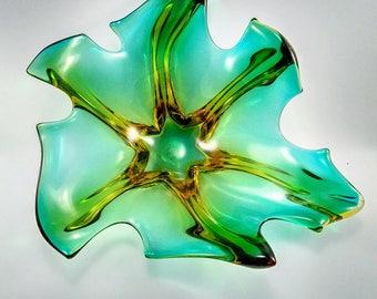 Beautiful Murano Vintage Art Glass -282 V