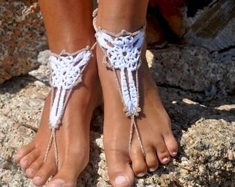 Bridal Party Bridesmaids Gift Foot Jewelry Bridesmaid Shoes Destination Wedding Bridesmaid Barefoot Sandals Wedding Shoes for Bridesmaids