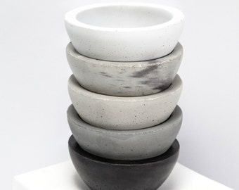 Round 01 mini bowl Concrete Geometric