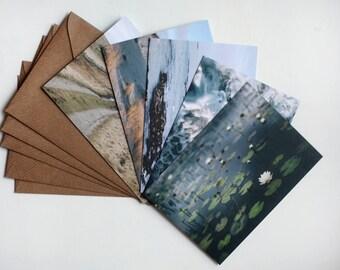 Hebrides I - five art notecards