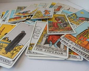 Rider Tarot Cards/Magician/1970's/78 Card Waite Deck/