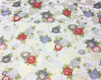 Japanese Patchwork Quilting Fabric Hanabi by Hana QH Textiles HH201205 6
