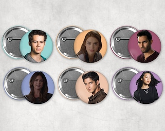 1.25in Teen Wolf Buttons