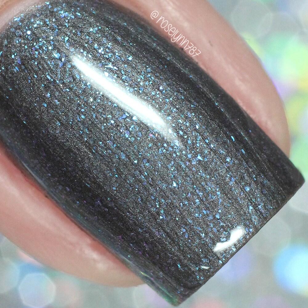 Color Changing Nail Polish Vegan Nail Polish Dark Blue