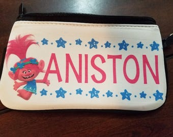 Custom Zip Case - Cosmetic, Purse, Pencil case- Any design you want