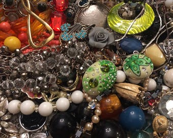 3 Lbs. Vintage to Now  Broken Jewelry for Repair, Parts or Crafting