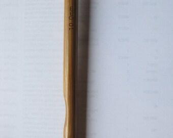 10mm Bamboo Crochet Hook