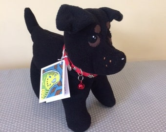 Soft Toy Black Labarador Puppy
