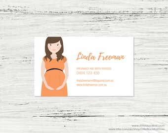 Portrait illustration Business Card Design | Caricature Business Card | Personalised Digital Business Card File
