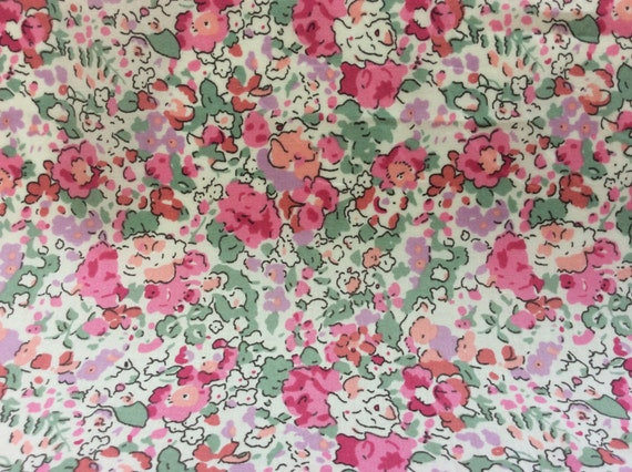 Tana lawn fabric from Liberty of London, Claire Aude Spécial edition!