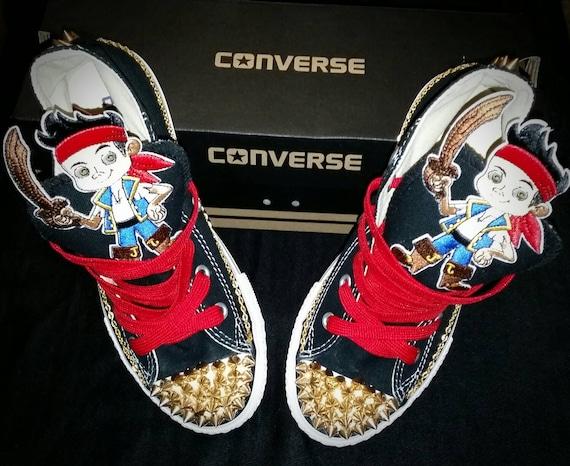 boys custom converse