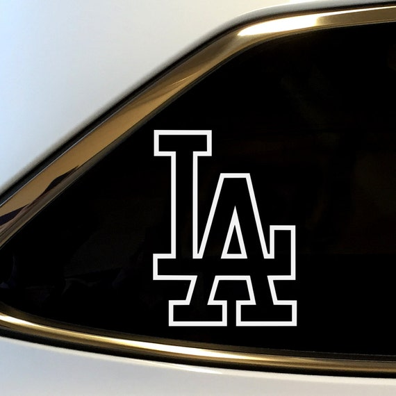 La Car Stickers