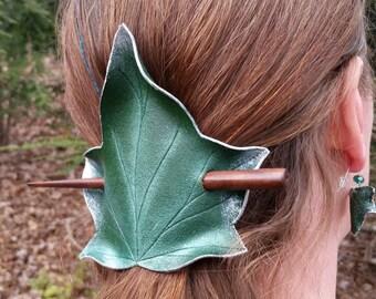 Ivy Leaf Hair Cup