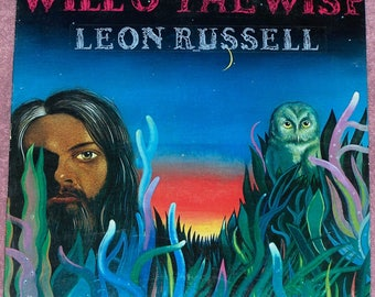 Leon Russel Will O' The Wisp LP Record1974...FREE shipping !!