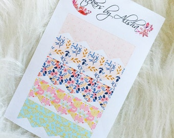 Mini Page Flag Stickers | Planner Stickers