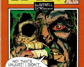 AXA 7 - 1985 B&W illustrated comic