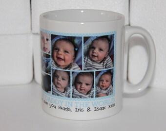 Shmug Personalised photo montage mug, Your Photos, Your Mug, Your Way!! Anything goes, printed mug/cup