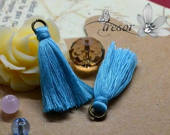 Set of 2pcs, tassels, handmade, 35mm good quality