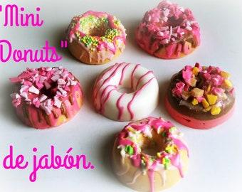 Handmade Soap Mini Donuts
