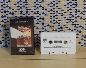 Led Zeppelin II - 2 -  Cassette tape