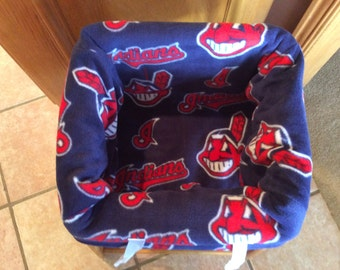 Restaurant Highchair Seat Cover, Cleveland Indians
