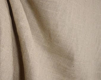 Glynn Linen Natural Fabric