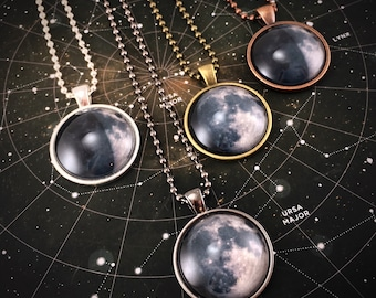 Personalized Birth Moon Jewelry Custom Moon Phases Necklace, Special Date Anniversary Pendant Romantic And Unique Gifts