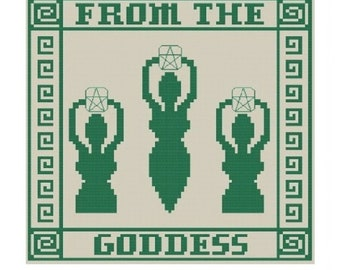 From The Goddess Sampler Counted Cross Stitch Pattern - Digital Download