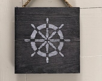 Small Antiqued Nautical Signs