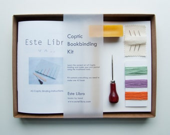 Coptic Bookbinding Kit - Pastel