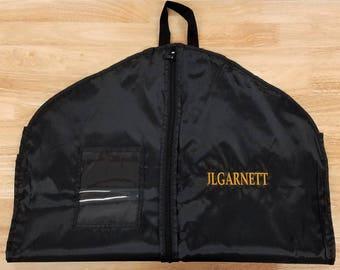 Garment Bag Personalized Suit Bag Hanging Clothes Bag Dance Costume Travel Bag Monogrammed Gift Groomsmen Gifts