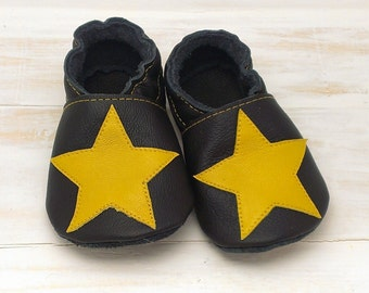 Non-slip soft sole leather shoes, soft sole shoes, leather baby shoes, pre-walkers, soft soled baby shoes, baby slippers, toddlers moccasins