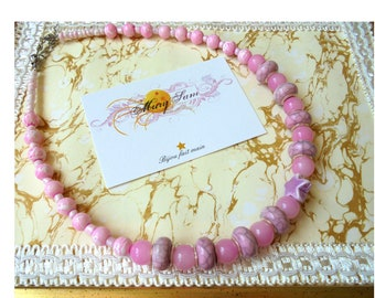 pink dream necklace
