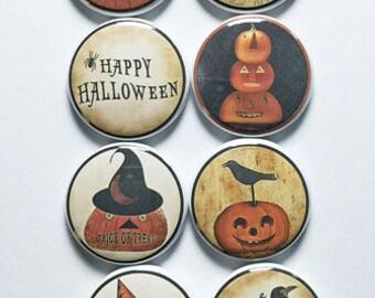 Folk Art Halloween Flair