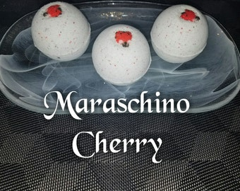 Maraschino Cherry Bath Bomb