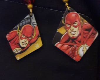 The Flash earrings