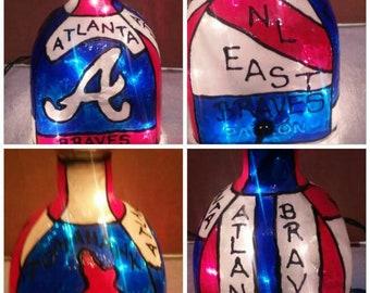Made to Order small Atlanta Braves lamp