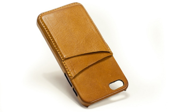 iPhone SE/5S/5 Back case with credit card slots for iphone SE/5S/5 (choose device) col CAMEL