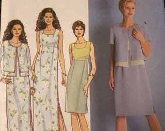 Simplicity 8564, Dress and Jacket Sewing Pattern