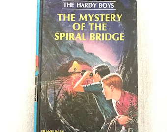 Vintage Hard Cover The Hardy Boys Book