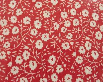 Hello Darling Yardage - 5511721 - Bonnie Camille Floral Dainty Red