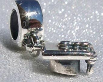 Pandora, Graduation Cap, Bracelet Charm, Silver, 925 ALE, Achievement, Congratulations, College, High School, 790270
