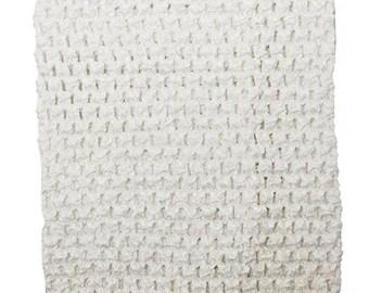 "child adult teen Crochet tutu top elastic tube 1-16 years DIY flower girl wedding dress birthday costume white 6"" 7"" 8"" 10"" 12"" 14"""