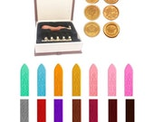 Wax Seal Stamp Set Kit, 6...