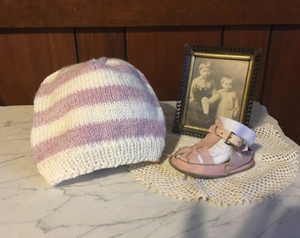 Vintage inspired Baby- hipster slouch hat
